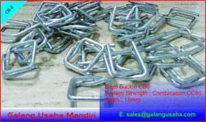 Steel Buckle CB6 19 mm